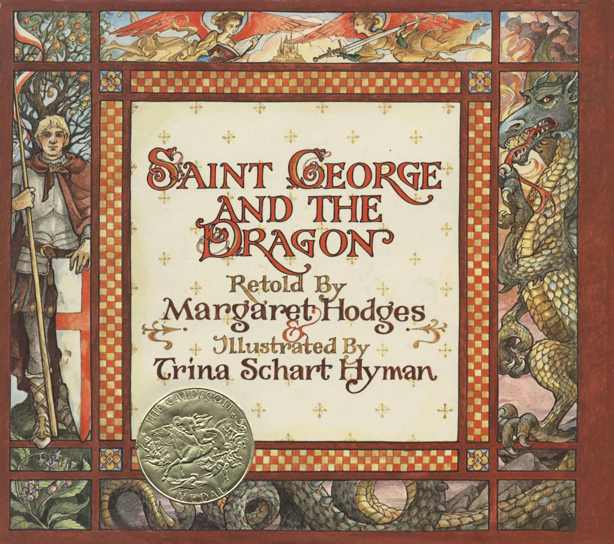 Saint George and the Dragon - book cover