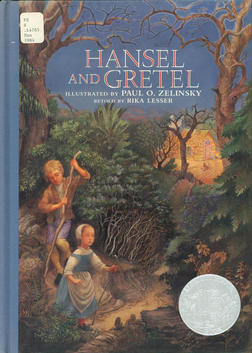 Hansel and Gretel book cover
