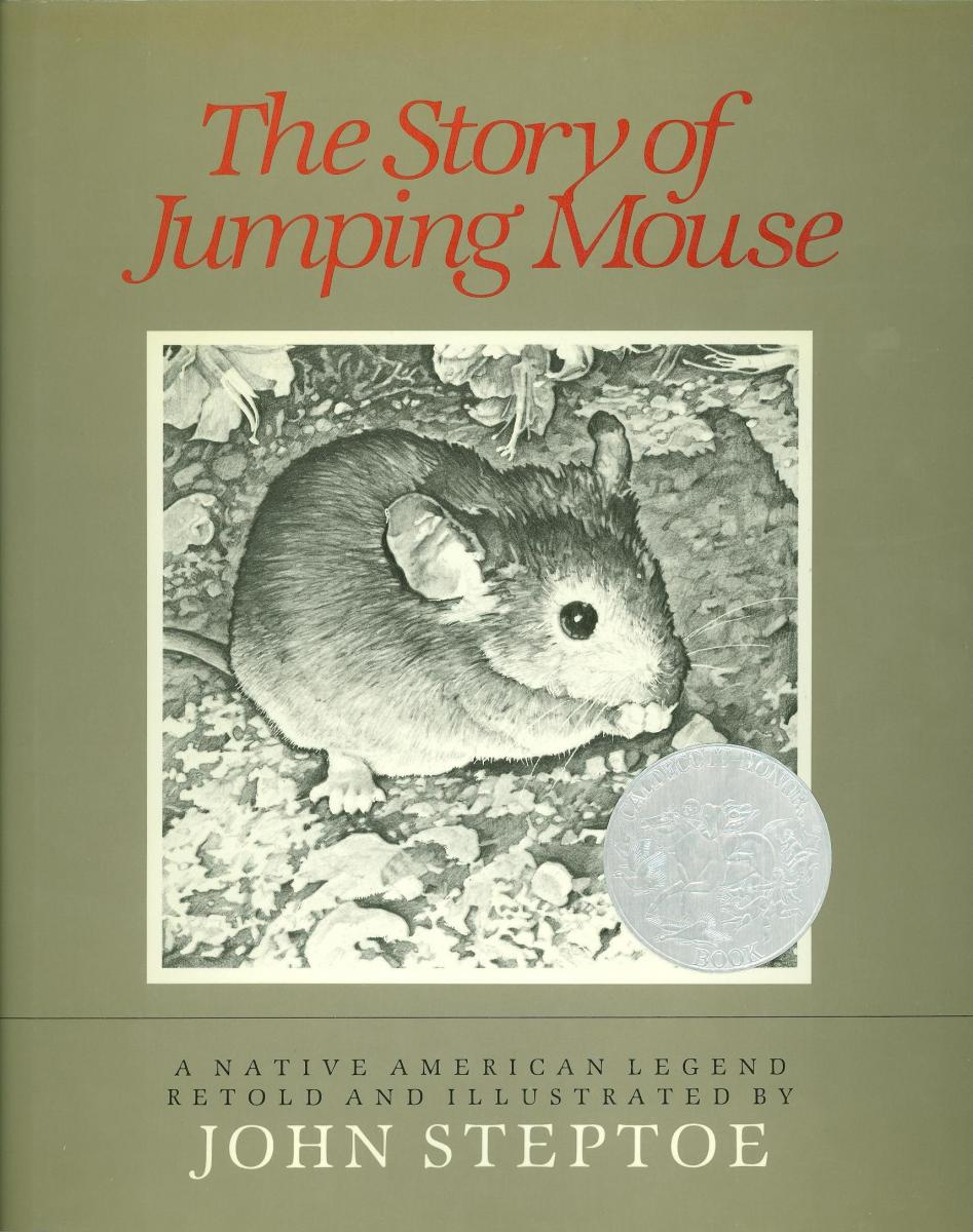 The Story of Jumping Mouse - book cover