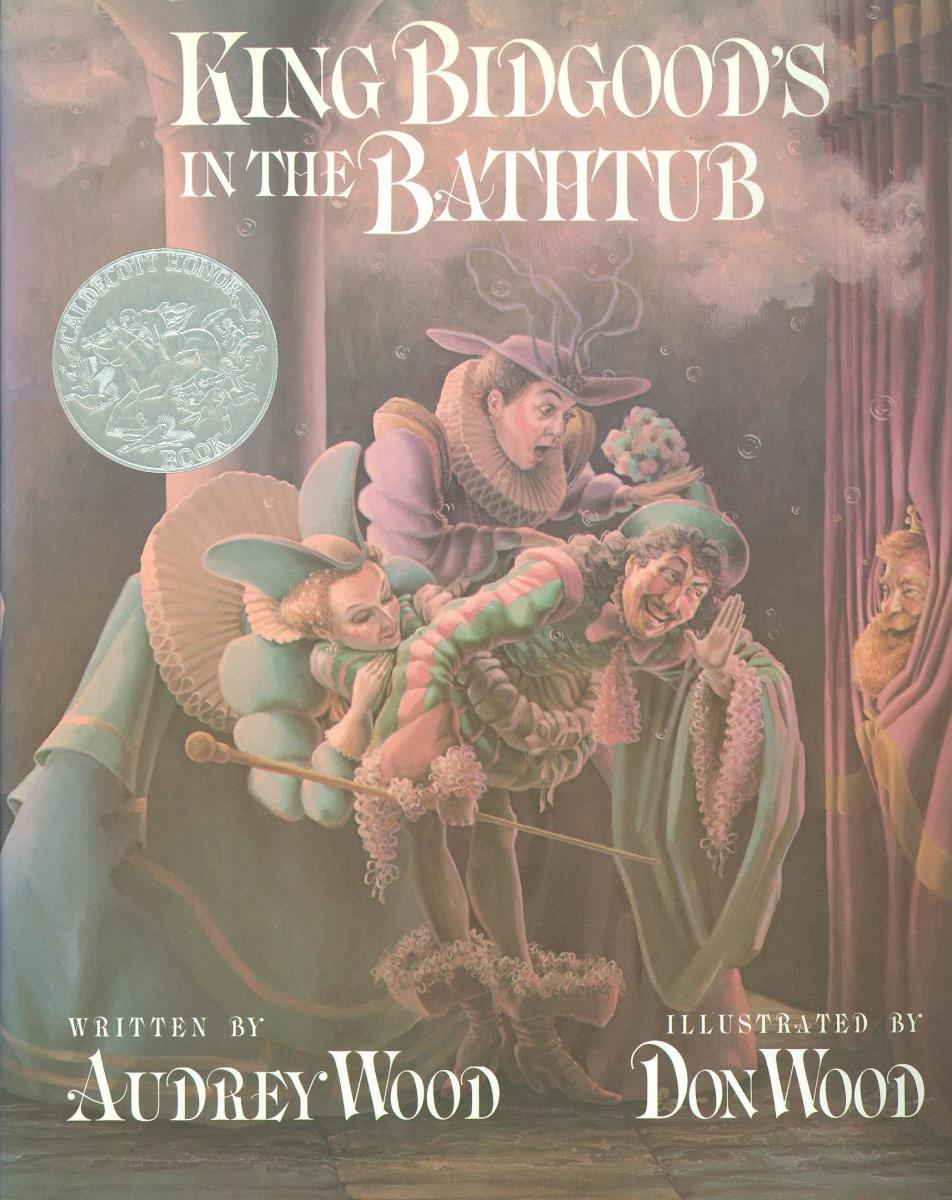 King Bidgood's in the Bathtub - book cover