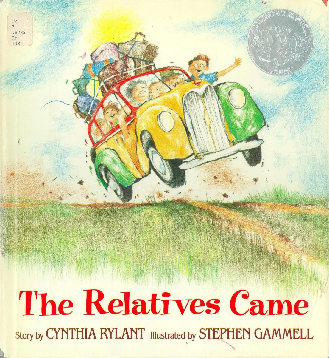 The Relatives Came - Book Cover