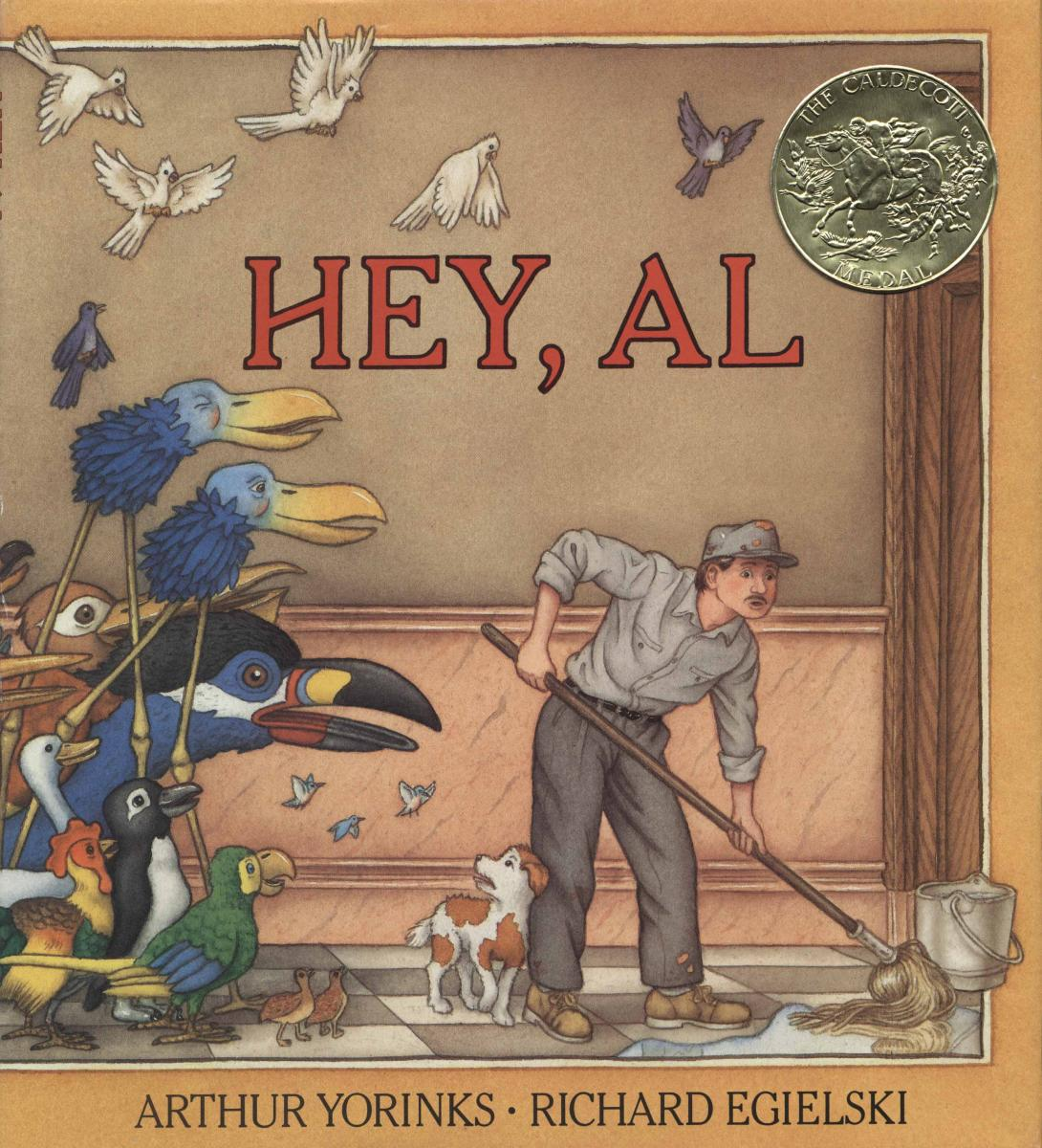Hey, Al - book cover