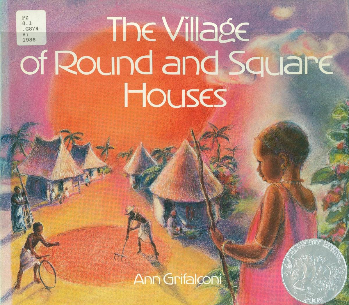 The Village of Round and Square Houses - book cover