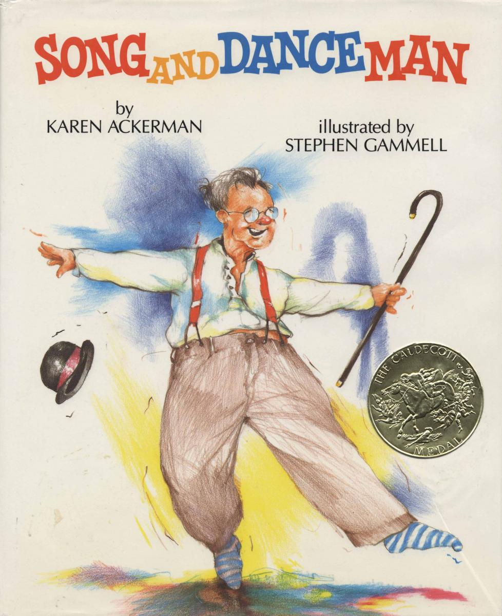 Pin by turner free library on caldecott medal winners for Dance music 1989