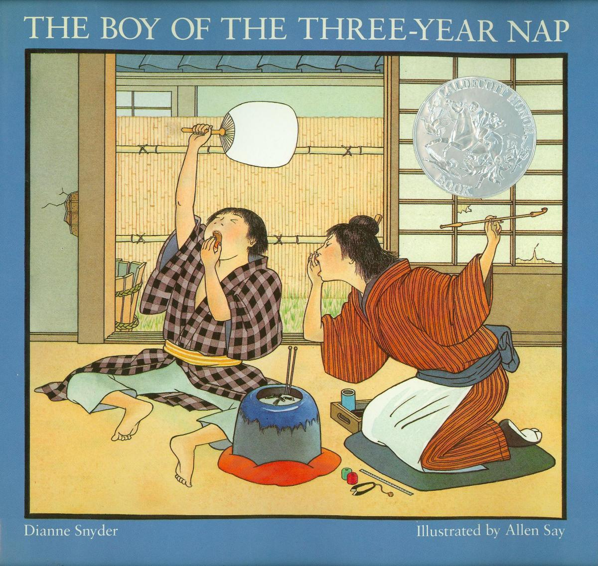 The Boy of the Three-Year Nap - book cover