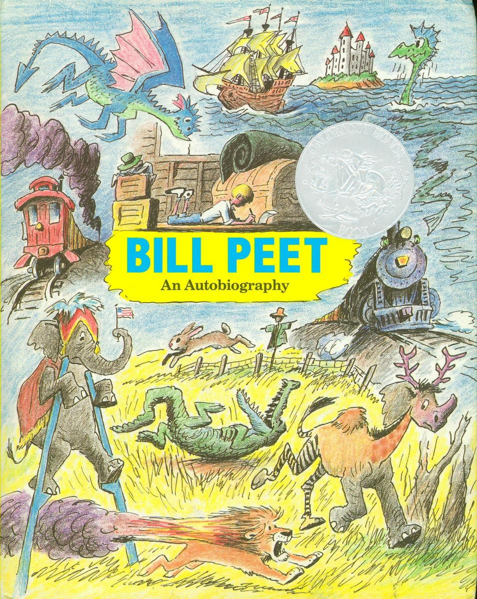 Bill Peet: An Autobiography - book cover