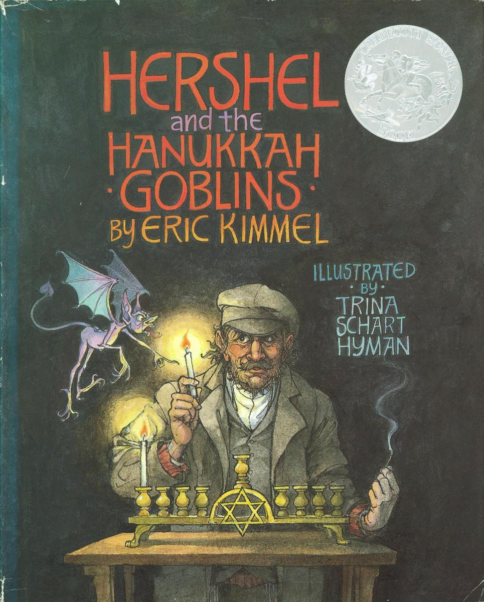 Hershel and the Hanukkah Goblins - book cover