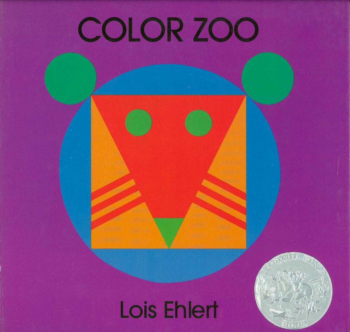 Color Zoo 1990 Caldecott Honor Book Association For Library