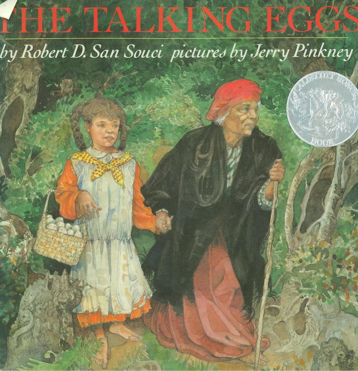 The Talking Eggs: A Folktale from the American South - book cover
