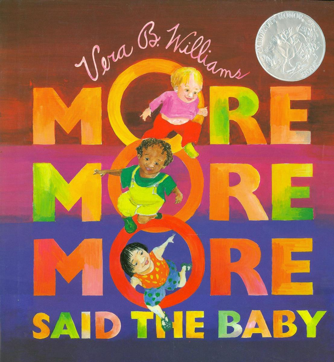 """More More More,"" Said the Baby: Three Love Stories - book cover"