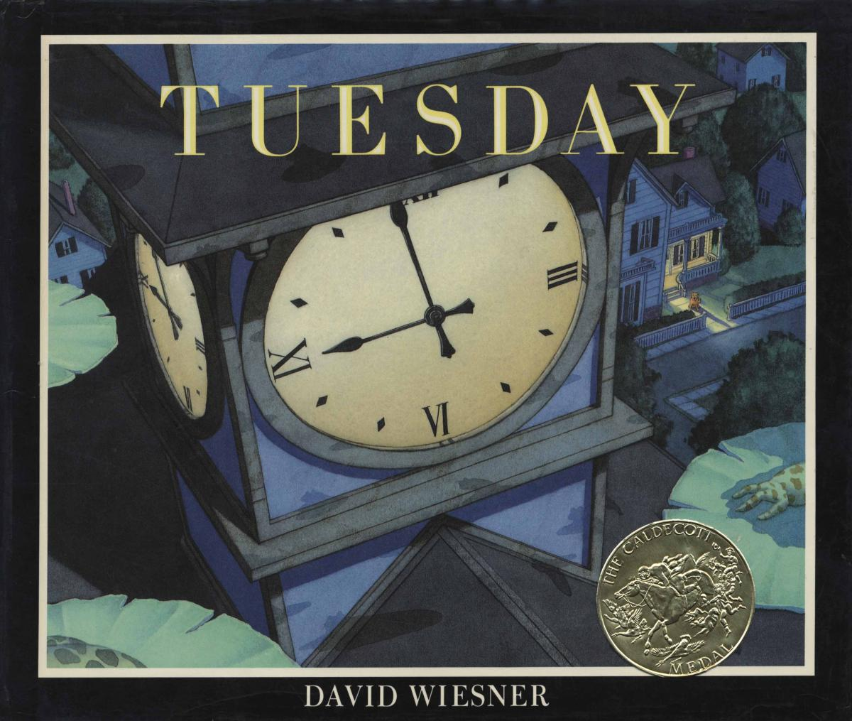 Tuesday - book cover