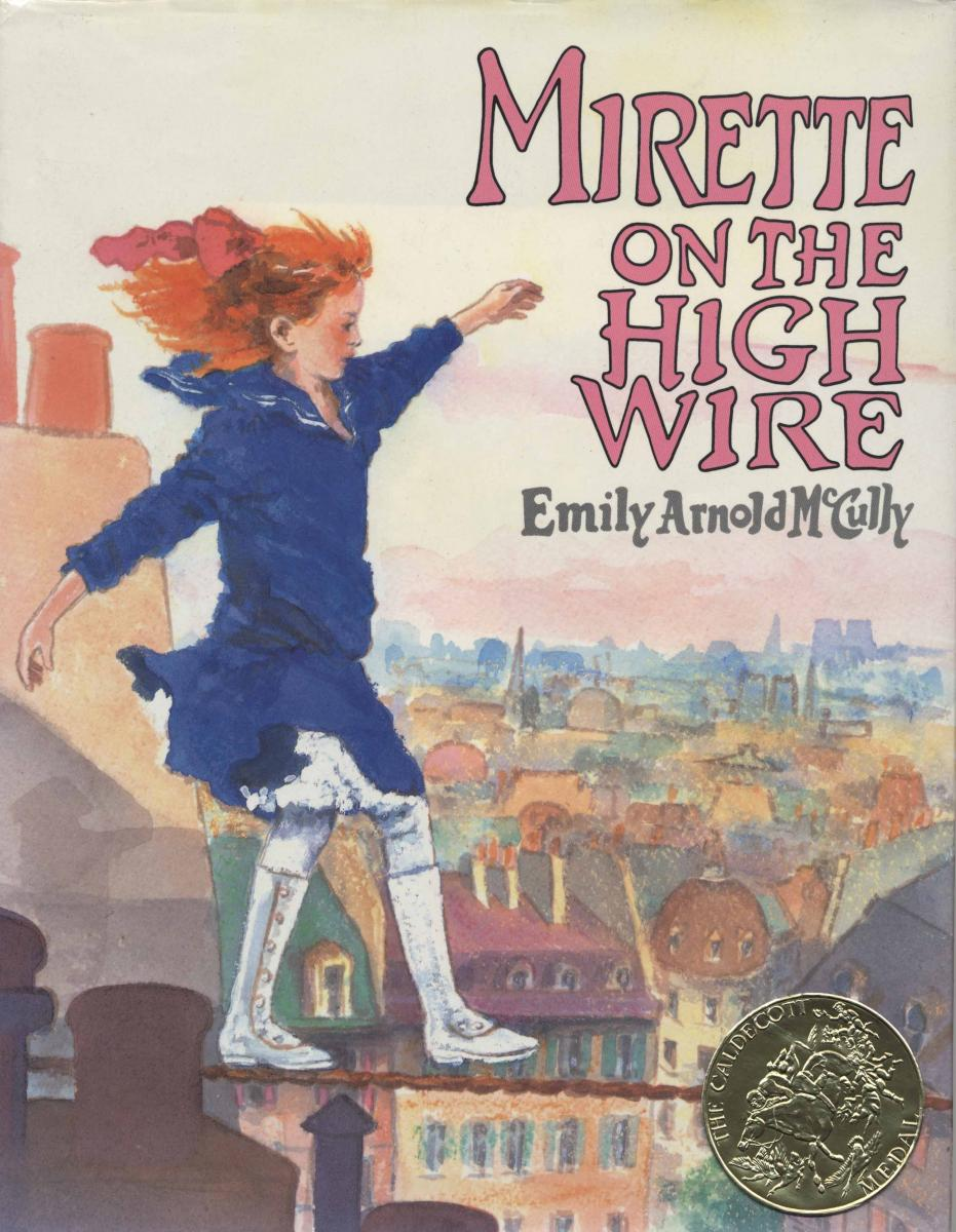 Mirette on the High Wire - book cover