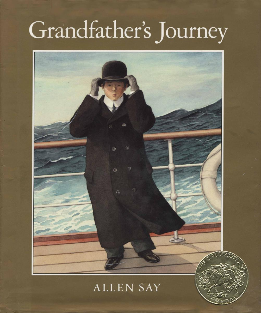 Grandfather's Journey - book cover