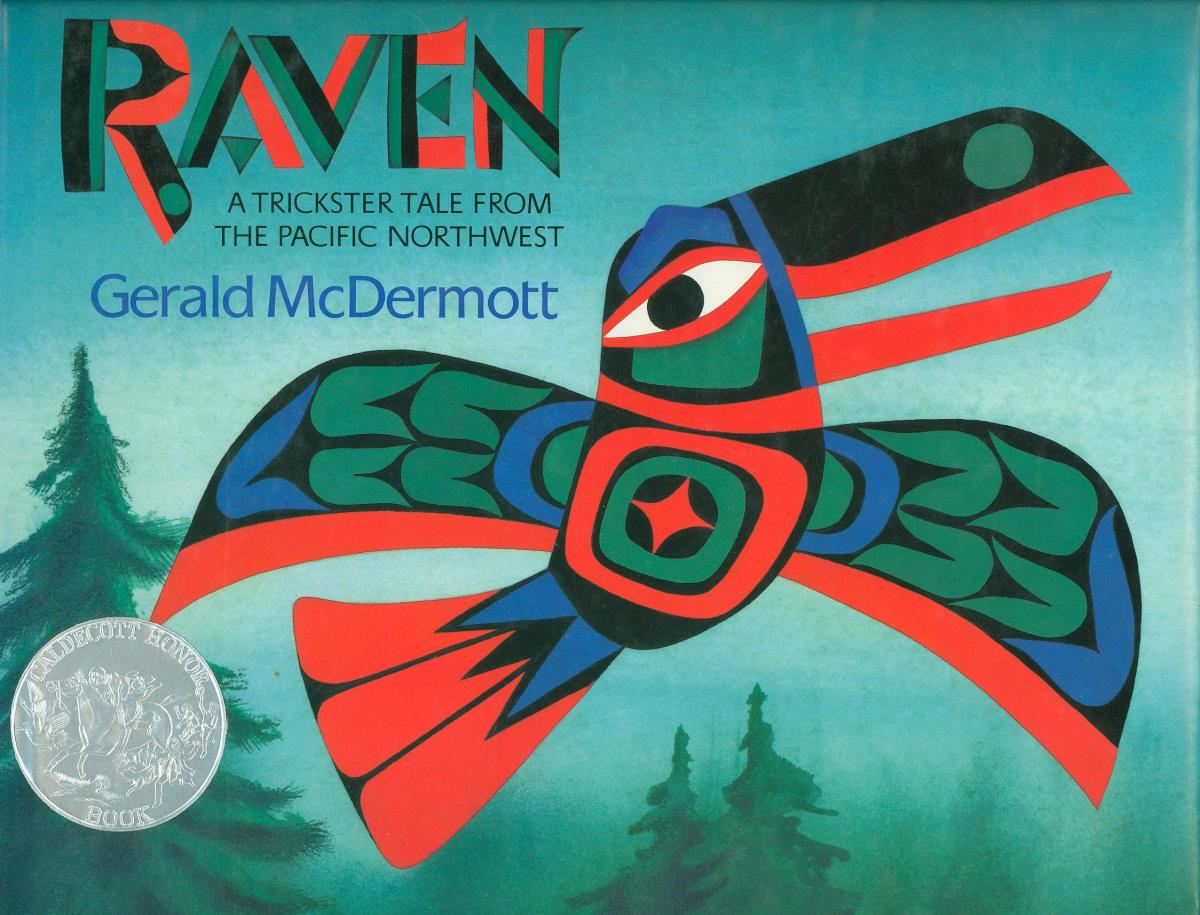 Raven: A Trickster Tale from the Pacific Northwest - book cover