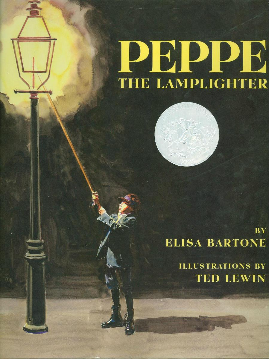 Peppe The Lamplighter   Book Cover ...