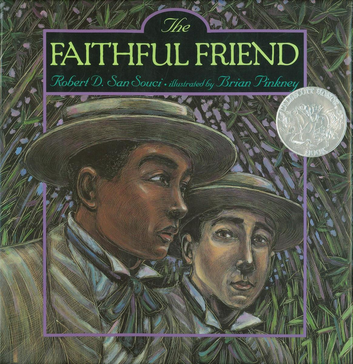 The Faithful Friend - book cover