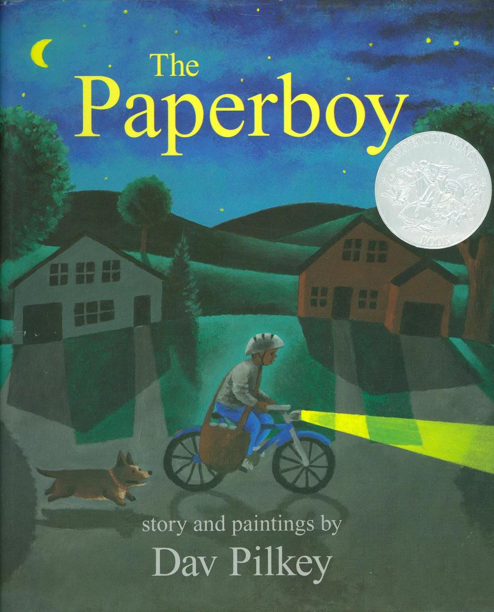 The Paperboy - book cover