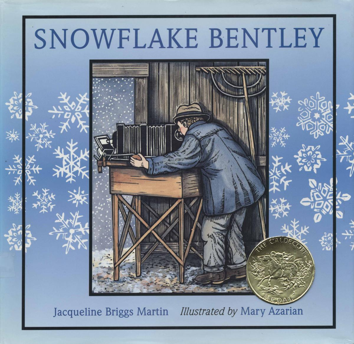 Snowflake Bentley - book cover