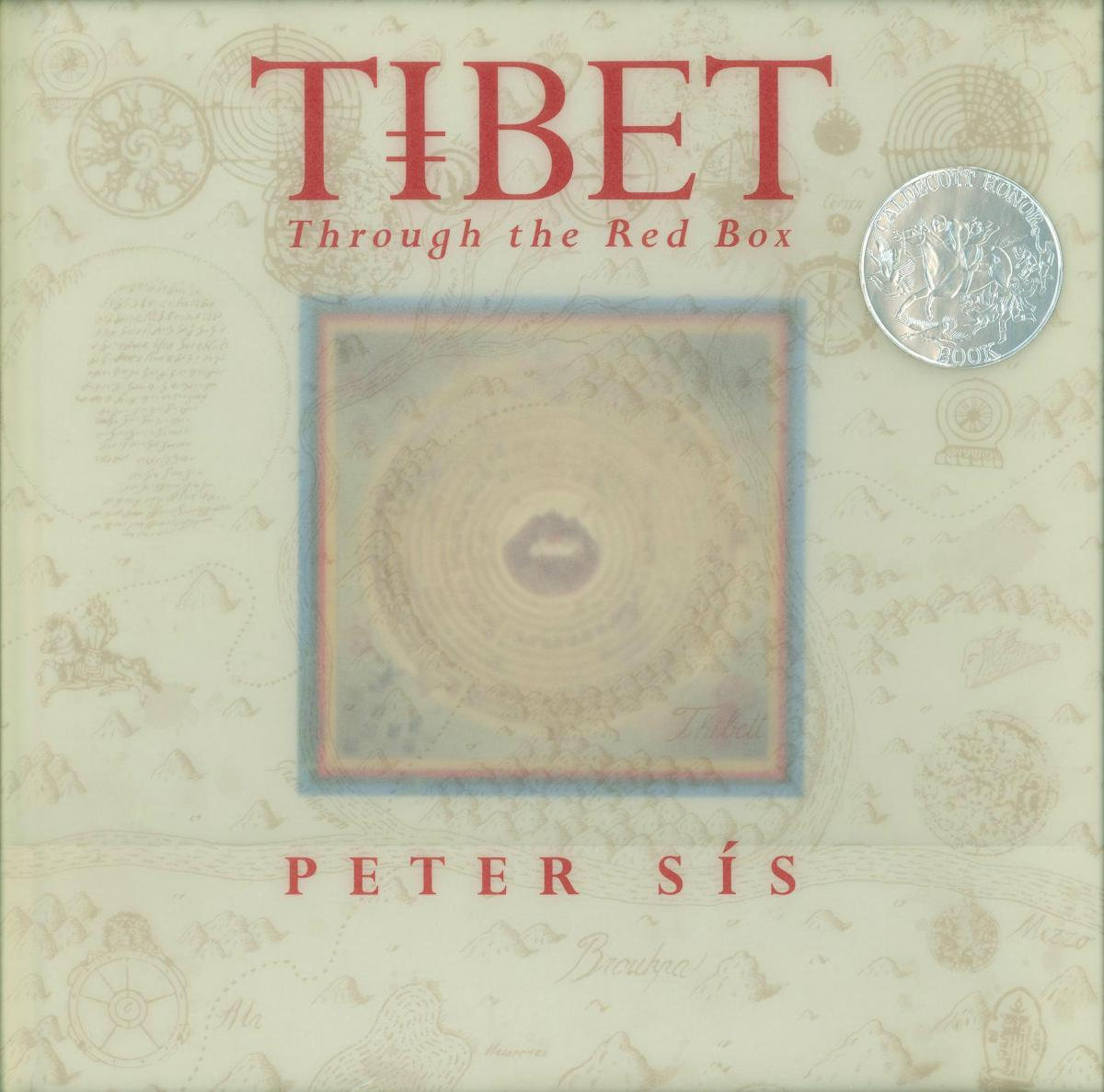 Tibet: Through the Red Box - book cover