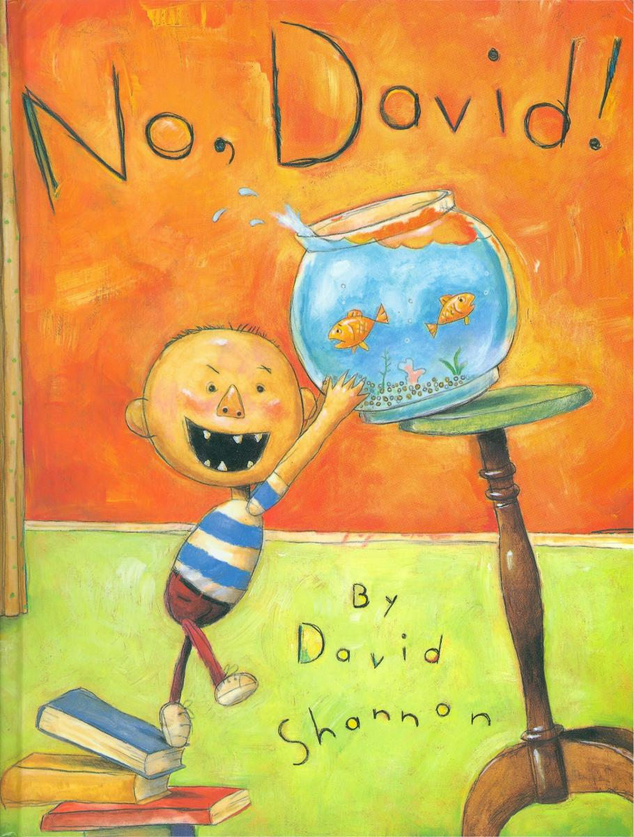 No, David! - book cover