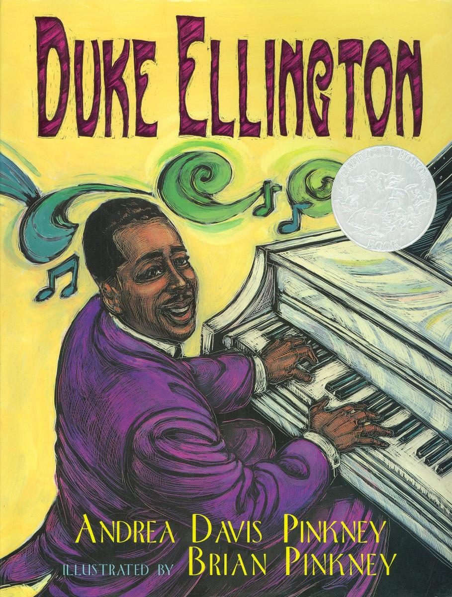 Duke Ellington: The Piano Prince and His Orchestra - book cover