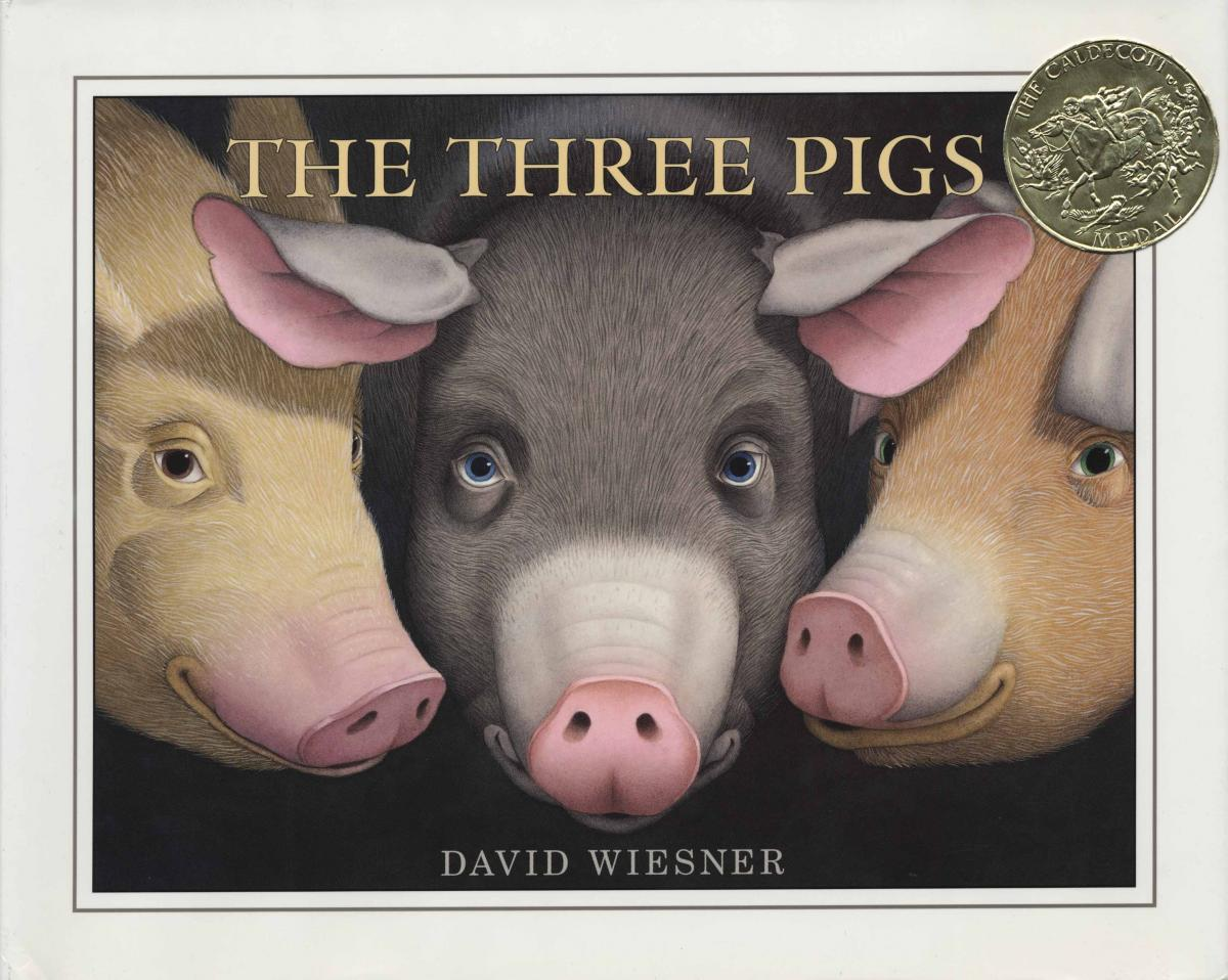 The Three Pigs - book cover image
