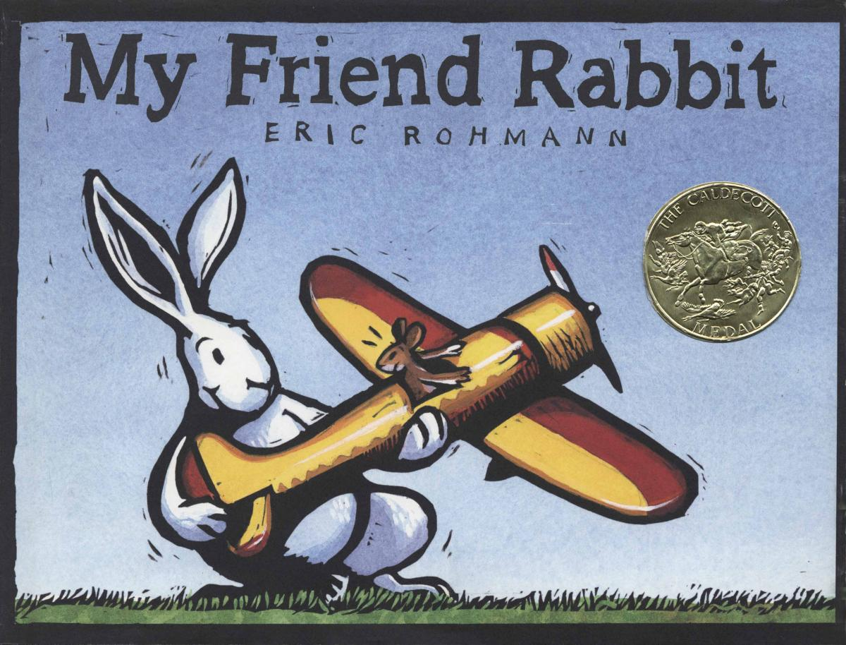 My Friend Rabbit - book cover image