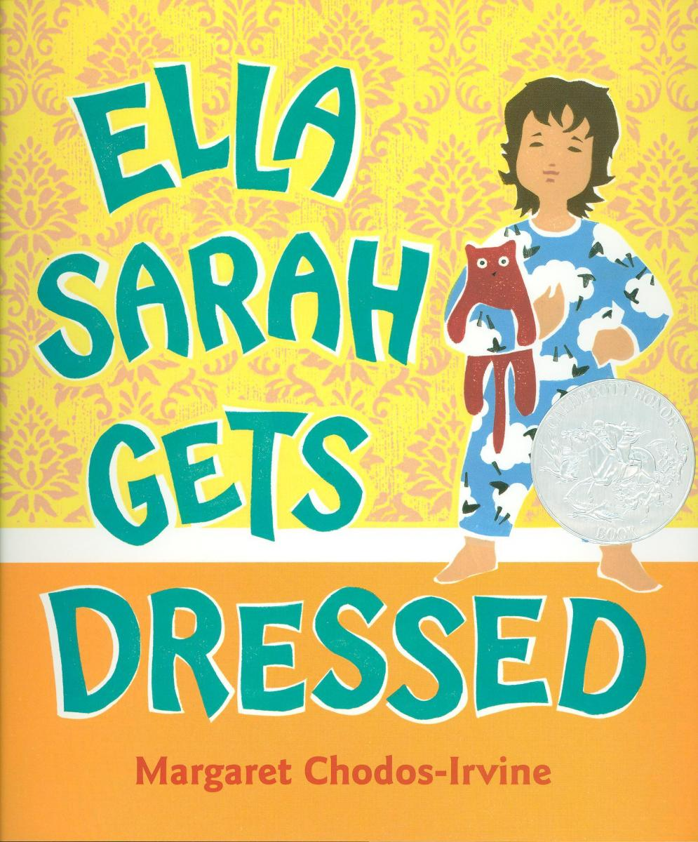 Ella Sarah Gets Dressed - book cover image