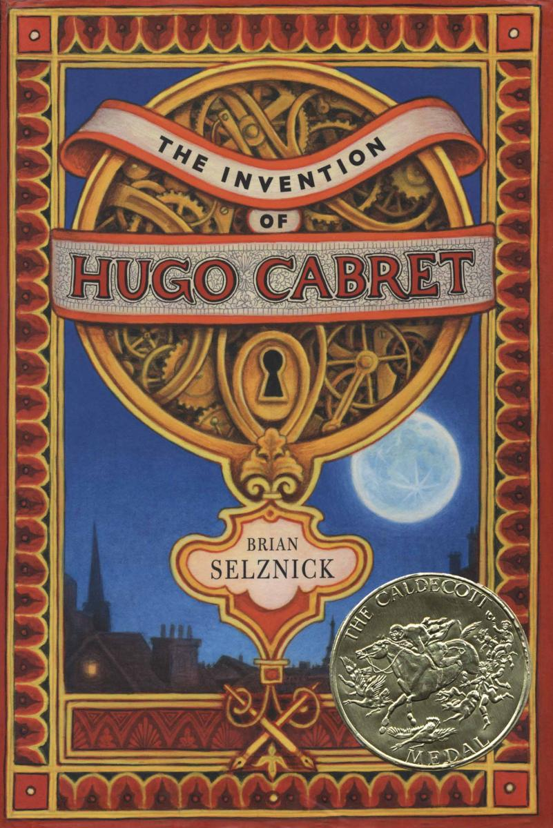 The Invention of Hugo Cabret - book cover image