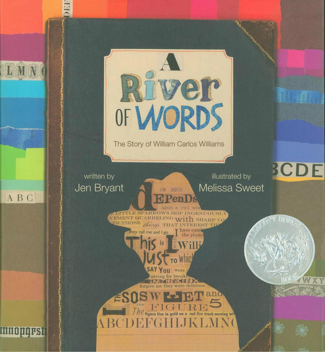 A River of Words: The Story of William Carlos Williams - book cover image
