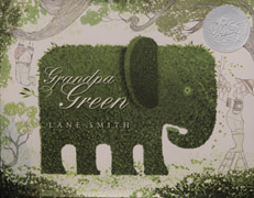Grandpa Green book cover image