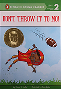 Book Cover: Don't Throw It to Mo!