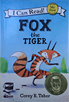 book cover: fox the tiger