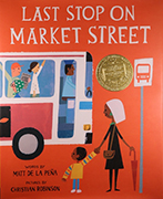 Book cover: Last Stop on Market Street