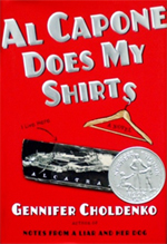 Al Capone Does My Shirts - book cover
