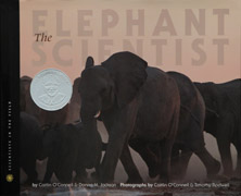 The Elephant Scientist image cover