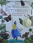 book cover: The Girl Who Drew Butterflies