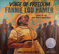 Book Cover: Voice of Freedom; Fannie Lou Hamer