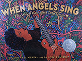 book cover: When Angels Sing