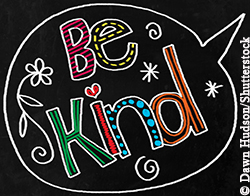 Be Kind graphic image