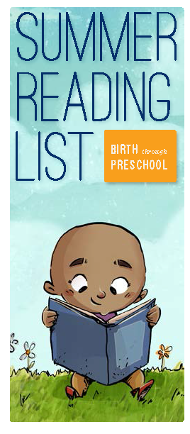 cover image ALSC Summer Reading List Birth through Preschool