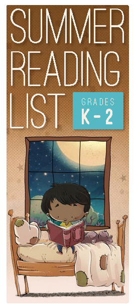 ALSC Summer Reading List K-2 updated 05/15/19