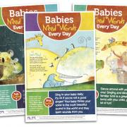 Babies Need Words Every Day posters