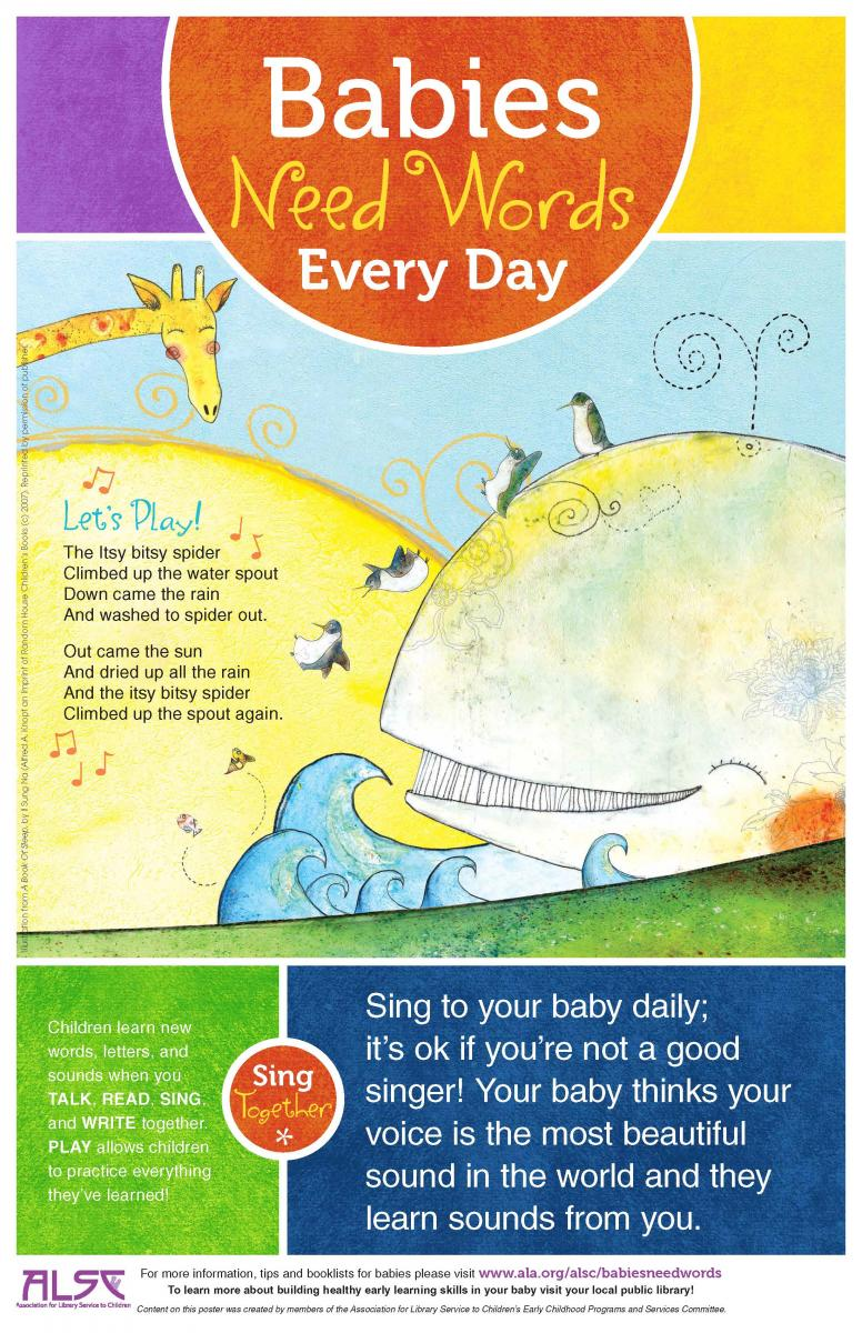 Babies Need Words Sing Poster 8