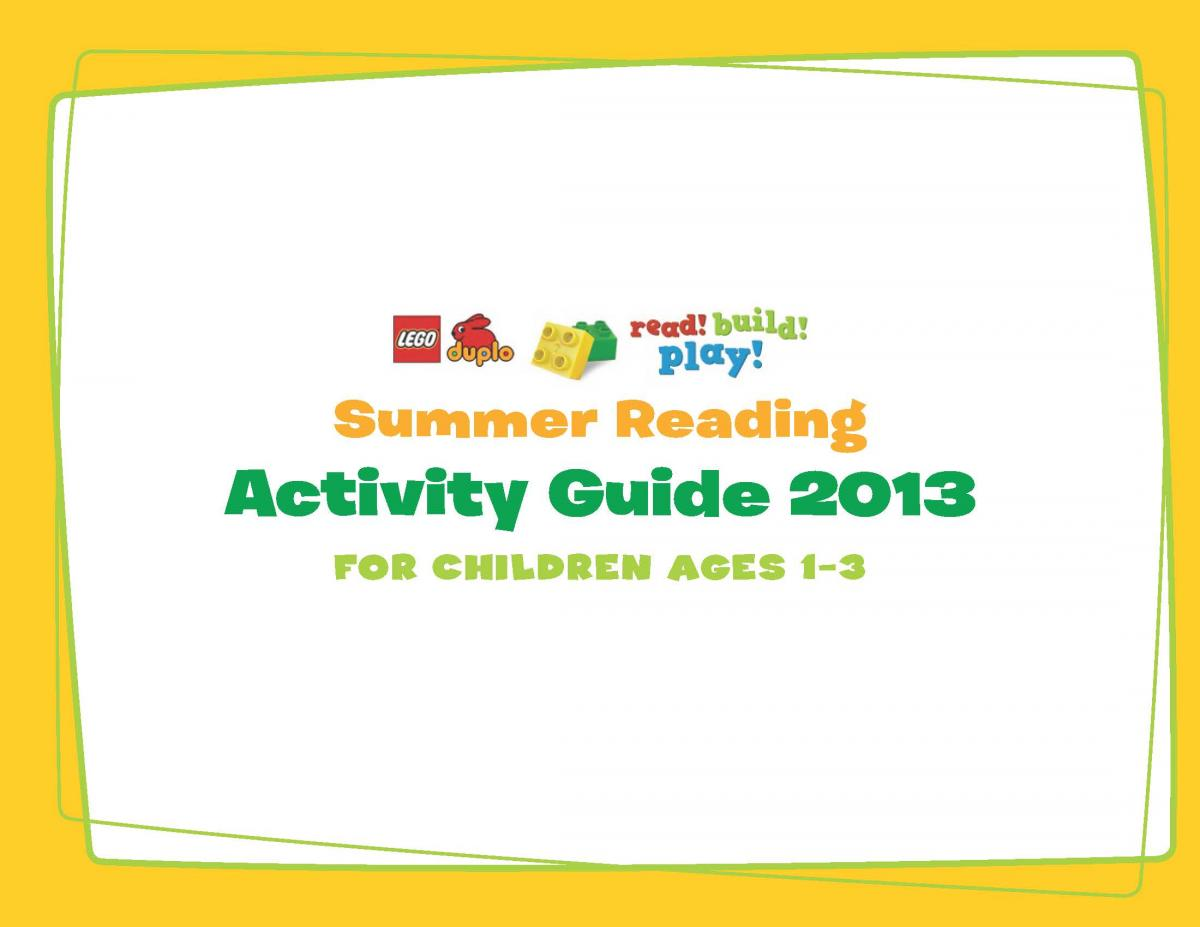 2013 Summer Reading list and activity guide