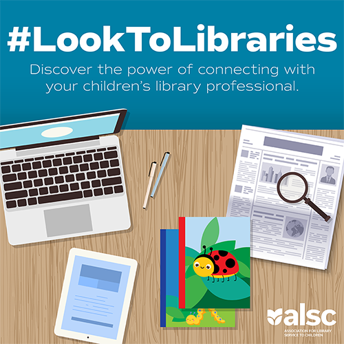 #LookToLibraries