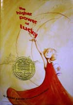 The Higher Power of Lucky - book cover