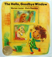 book cover image - the hello, goodbye window