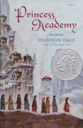 book cover image - princess academy