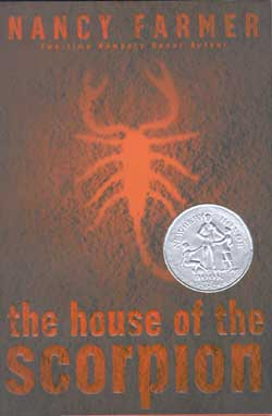 The House of the Scorpion - book cover